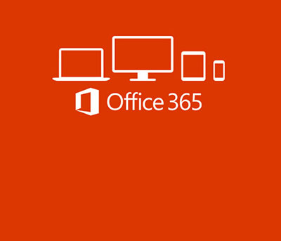 screen shot of Office 365 with drawing of different sized computer screens
